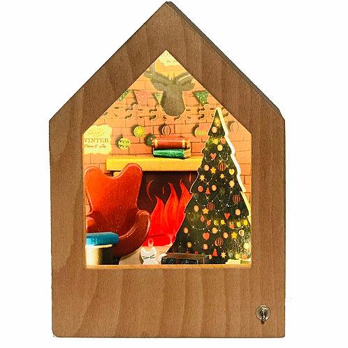 Christmas Story Lamp | Yeni Yıl Hikayeli Lamba
