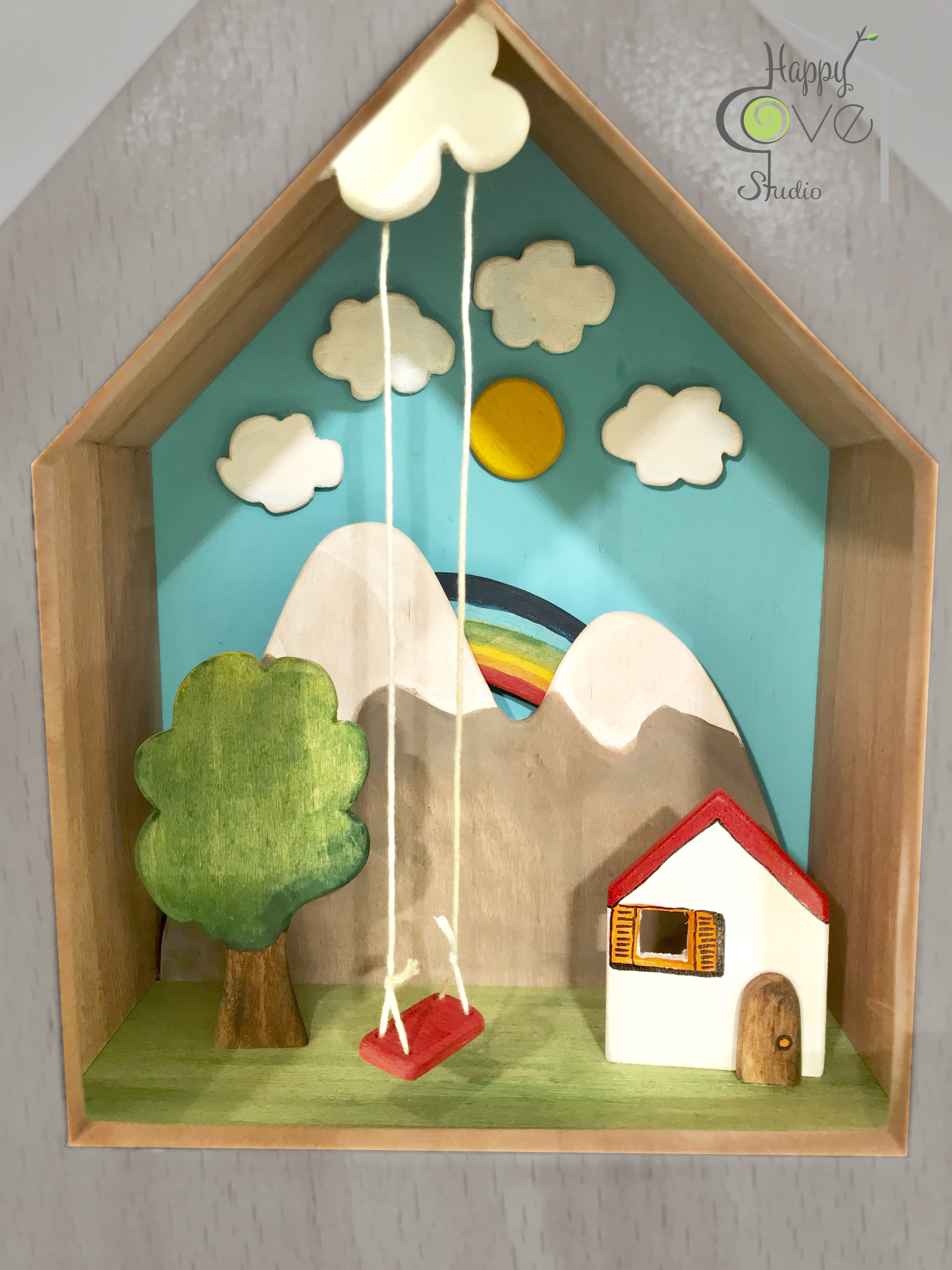 Fairy Tale | Wooden Story Lamp