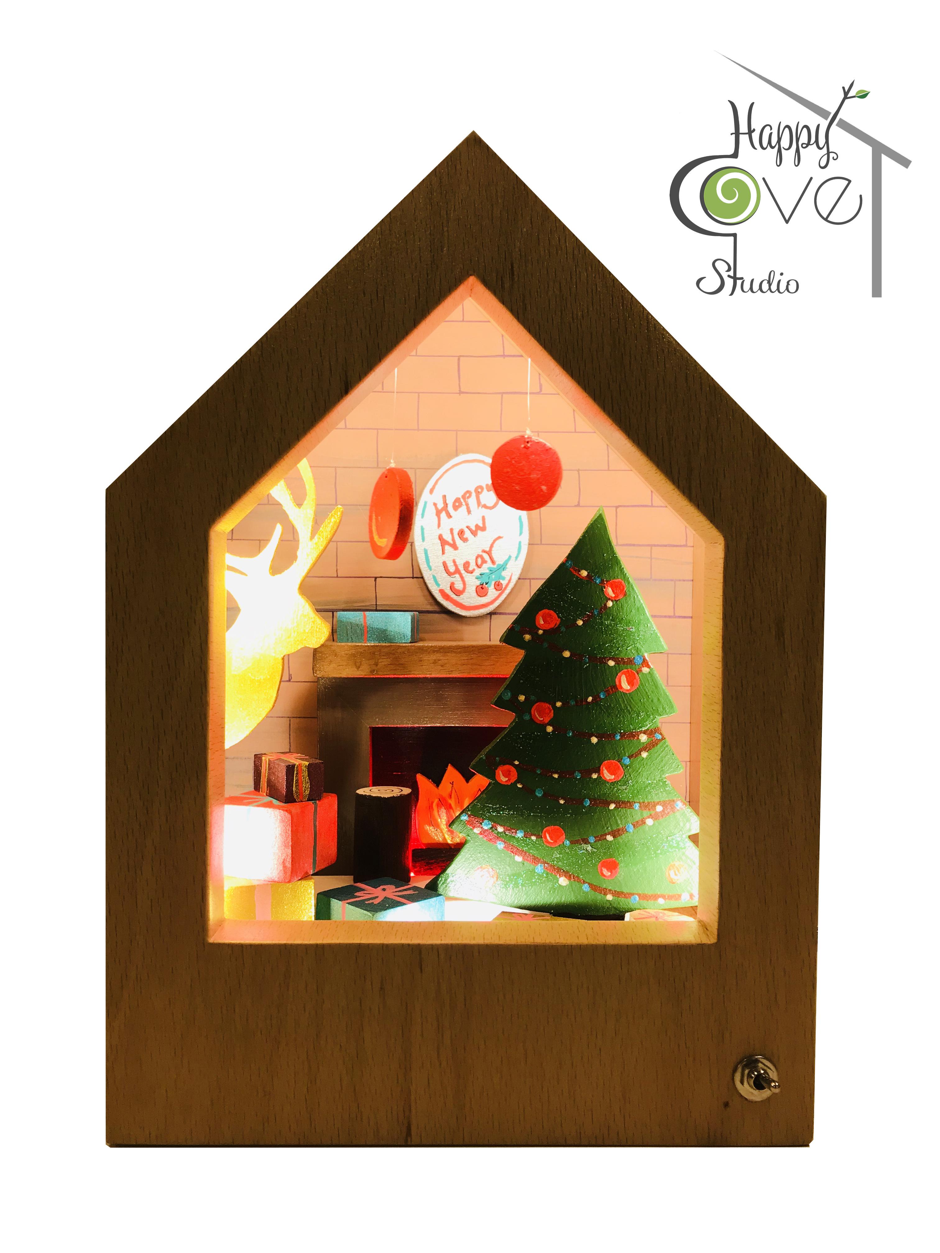 Christmas Story Lamp