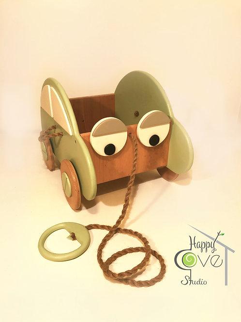 Çek Çek | Pull & Play Toy Car | Oyuncak Araba- Mint