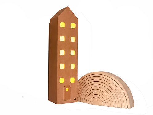 Apartment | Eco-friendly Wooden Lamp Natural