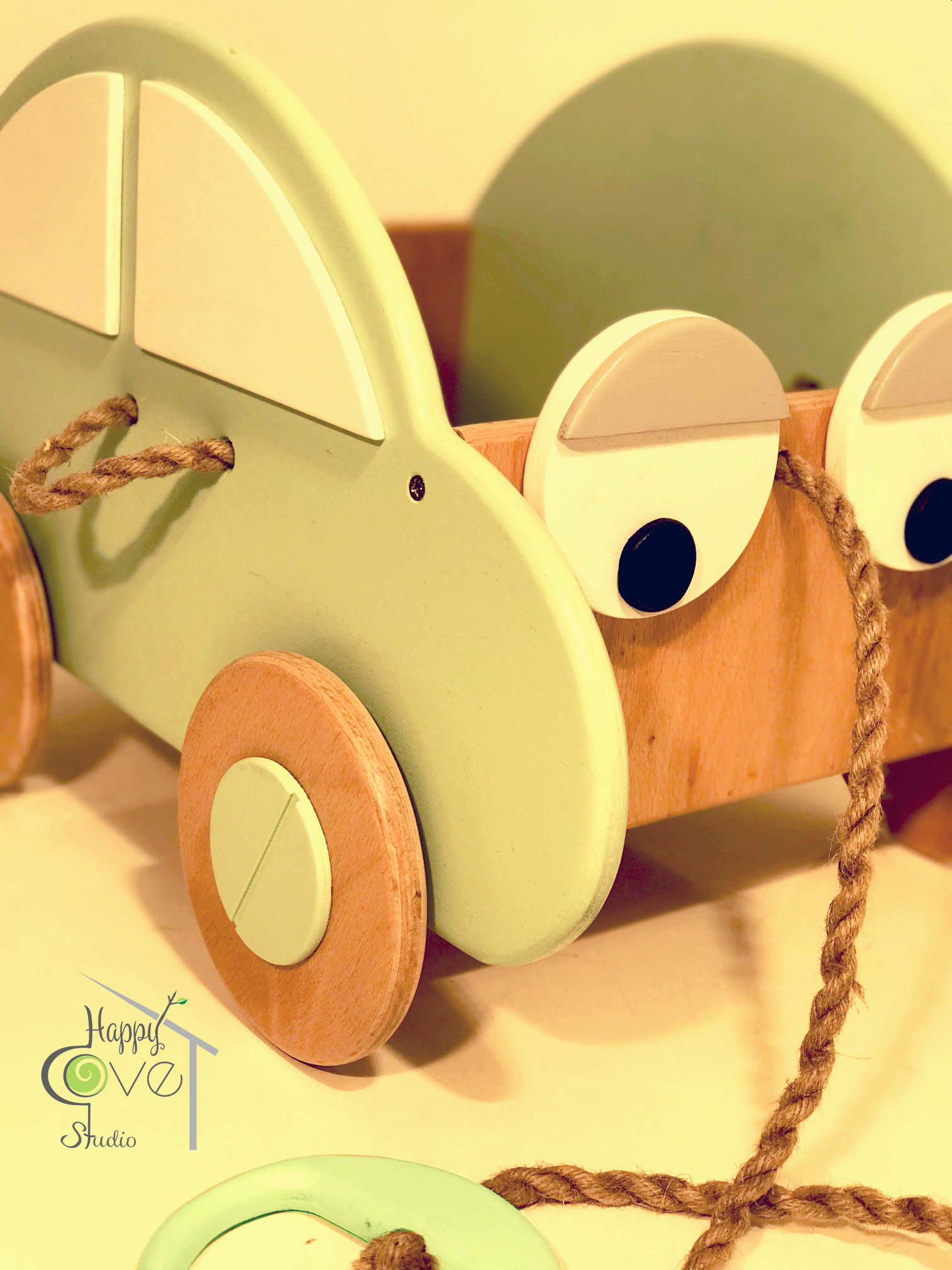 Çek Çek | Pull & Play Toy Car | Oyun
