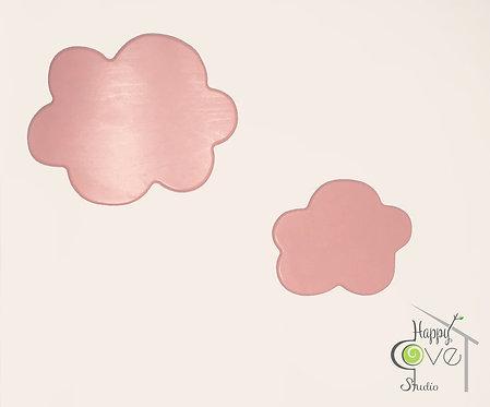 Pink Clouds | Wooden Wall Decorations | Pembe Bulut | Ahşap Duvar Ak