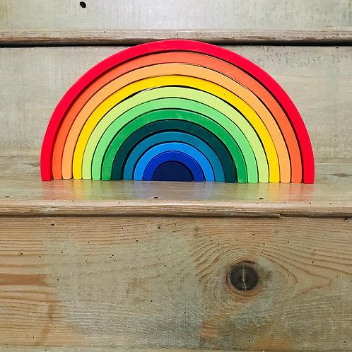 Wooden Rainbow Stacker XL