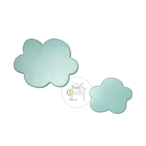 Blue Clouds | Wooden Wall Decorations | Mavi Bulut | Ahşap Duvar Aksesuarı