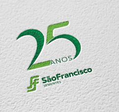 Selo 25 anos - SSF