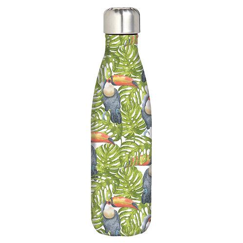 Water Bottle - Jungle Toucans