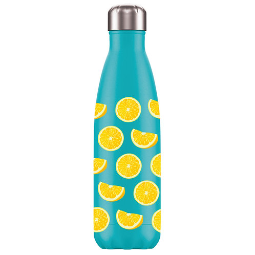 Water Bottle - Tutti Frutti Lemon