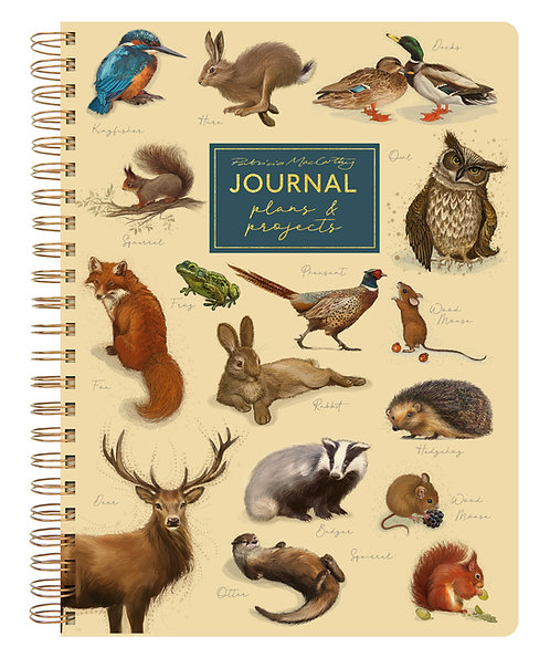 A5 Journal - Patricia MacCarthy Wildlife