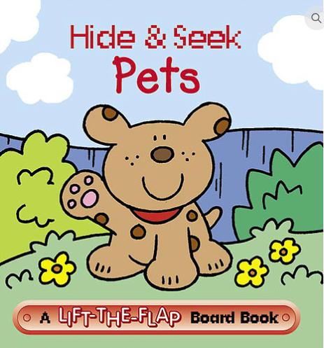 Hide & Seek Pets - Mini Lift-the-Flap Board Book