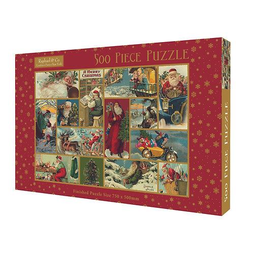 500 Piece Jigsaw - Vintage Christmas