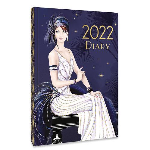 2022 A5 Diary - Claire Coxon Art Deco