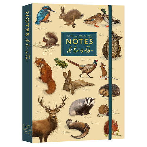 Notes and Lists Folder - Patricia MacCarthy Wildlife