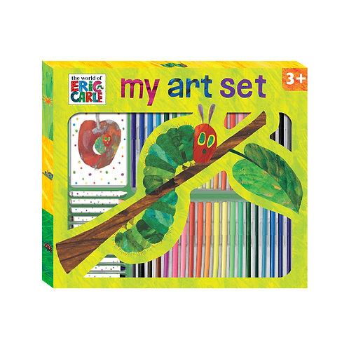 53 Piece Art Set - Eric Carle Hungry Caterpillar