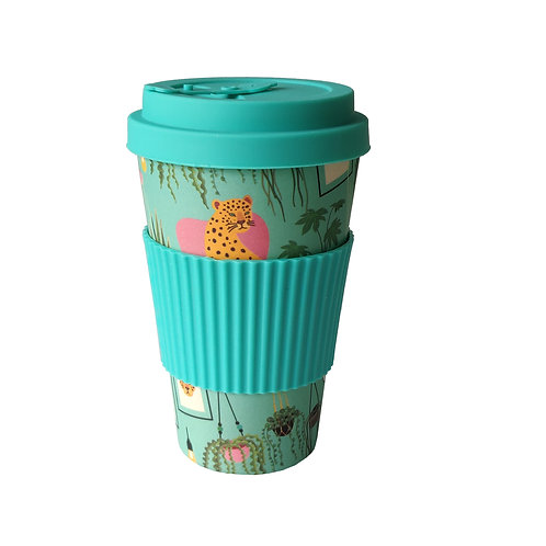 Urban Jungle - Bamboo Coffee Cup