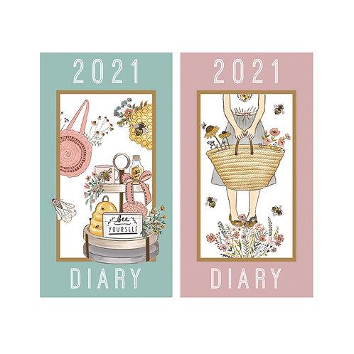 2021 Beekeeper Slim Diary