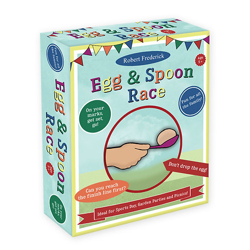 Egg & Spoon Race Set - Fun Day Games