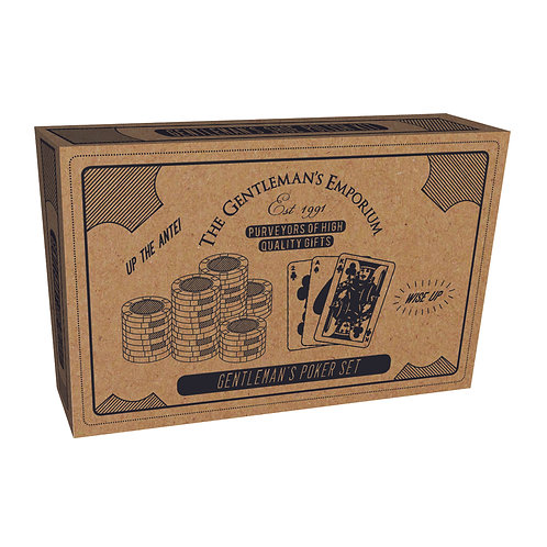 100 Chip Poker Set - Gentleman's Emporium