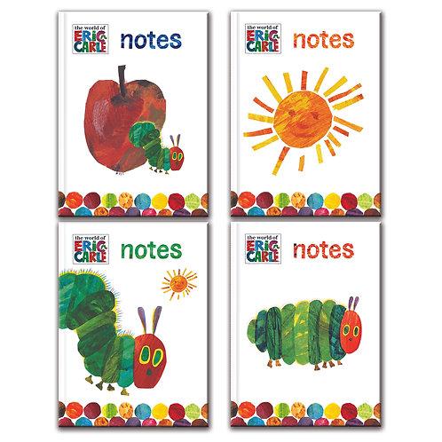 A6 Notebook - Eric Carle Hungry Caterpillar