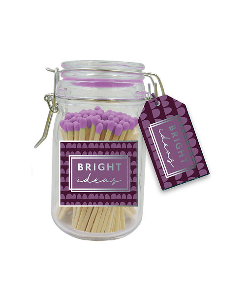Bright Ideas - Purple Tipped Matches