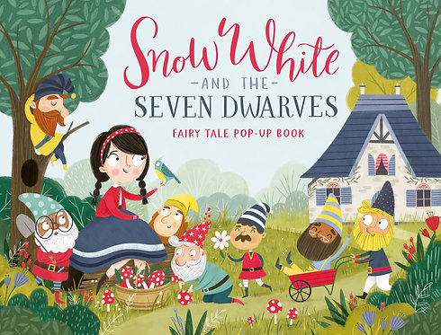 Snow White and the Seven Dwarves Fairy Tale Pop-Up Book