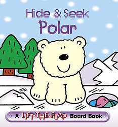 Hide & Seek Polar - Mini Lift-the-Flap Board Book