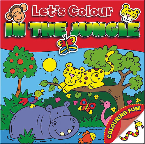 Let's Colour - In the Jungle