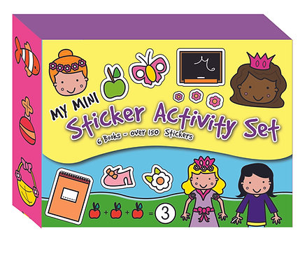 Mini Sticker Activity Set - Yellow