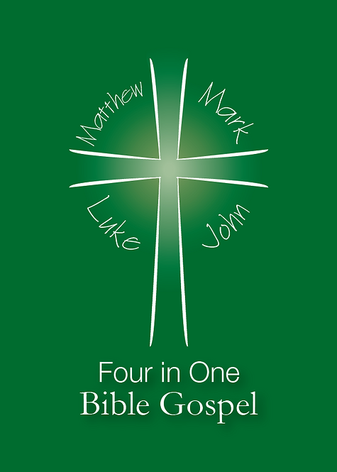 Four in One Bible Gospel