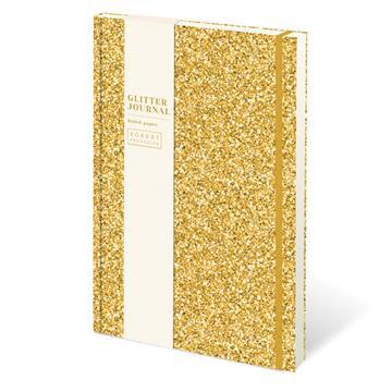 Glitter Journal - Gold