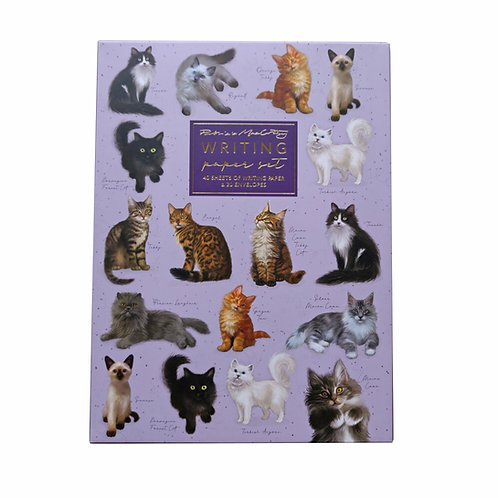 Patricia MacCarthy Cats Writing Paper Set