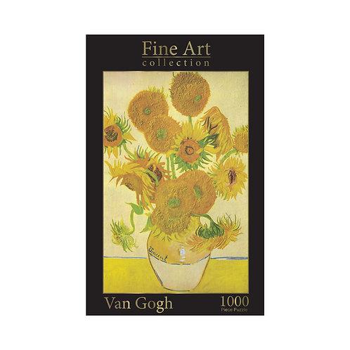 1000 Piece Jigsaw - Van Gogh: Sunflowers
