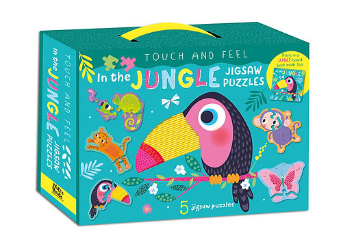 In the Jungle Jigsaw Puzzles - Touch and Feel
