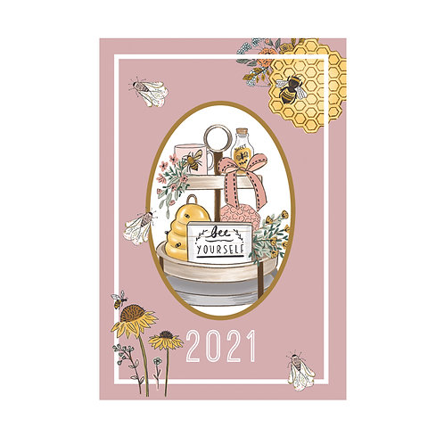 2021 Beekeeper A5 Diary