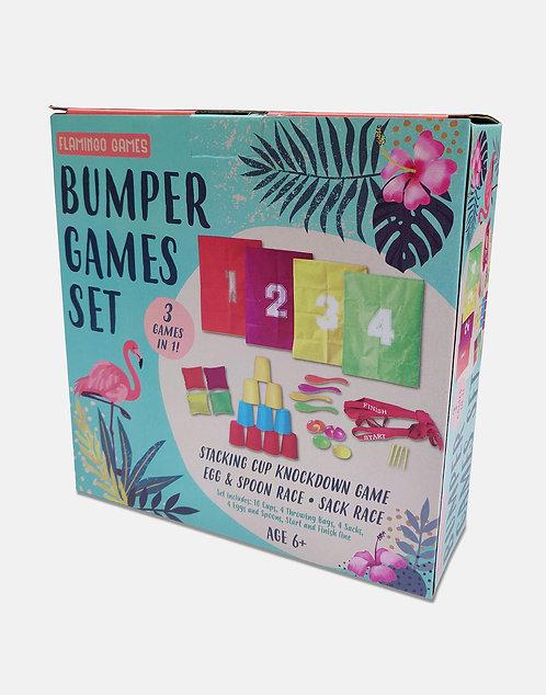 Bumper Games Set - Flamingo Games
