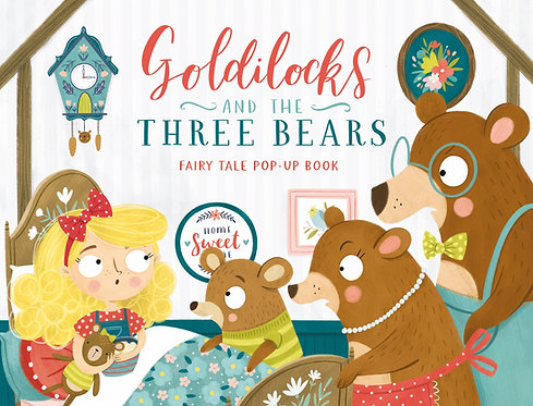 Goldilocks and the Three Bears Fairy Tale Pop-Up Book