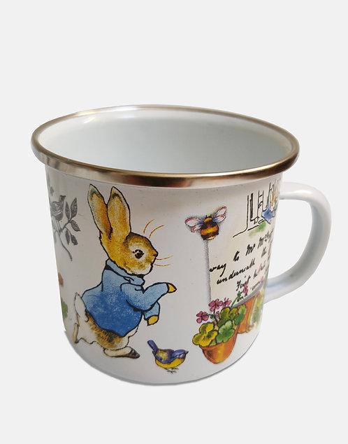 Beatrix Potter's Peter Rabbit Enamel Mug