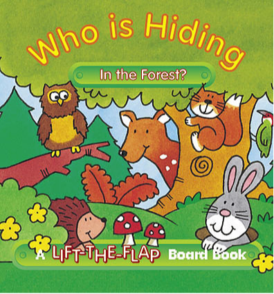 Who is Hiding in the Forest? - Mini Lift-the-Flap Board Book