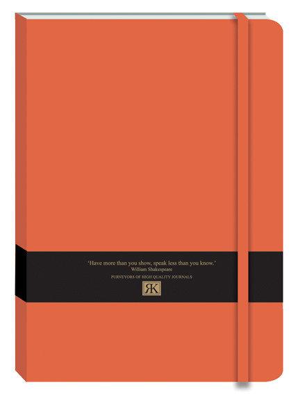 RK Journal - Bright Orange