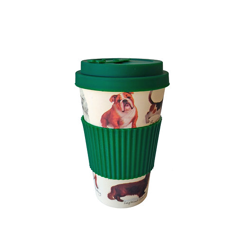 Patricia MacCarthy Dogs - Bamboo Coffee Cup
