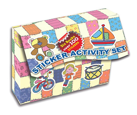 Mini Sticker Activity Set - Patchwork Fun