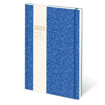 Glitter Journal -Bright Blue