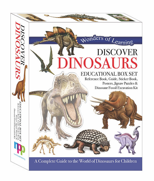Discover Dinosaurs - Wonders of Learning Box Set