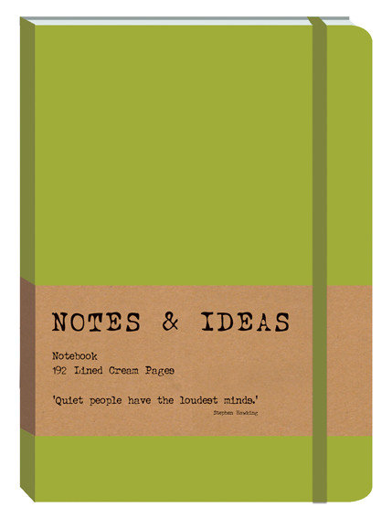 RK Notes & Ideas Journal - Lime Green