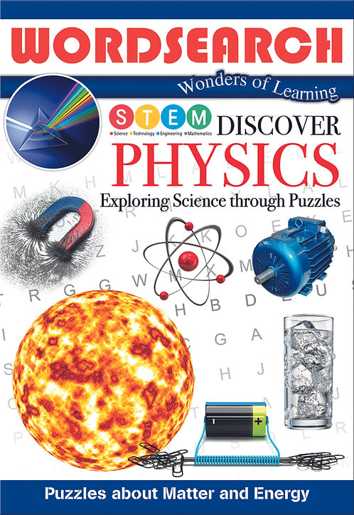 Discover Physics Word Searches