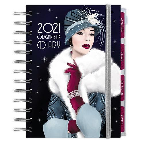 2021 Art Deco Organiser Diary