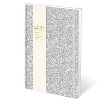Glitter Journal -Silver