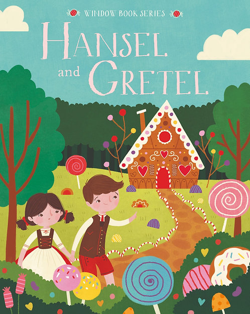Hansel and Gretel - Window Book