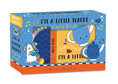 I'm a Little Teapot - Rattle Book