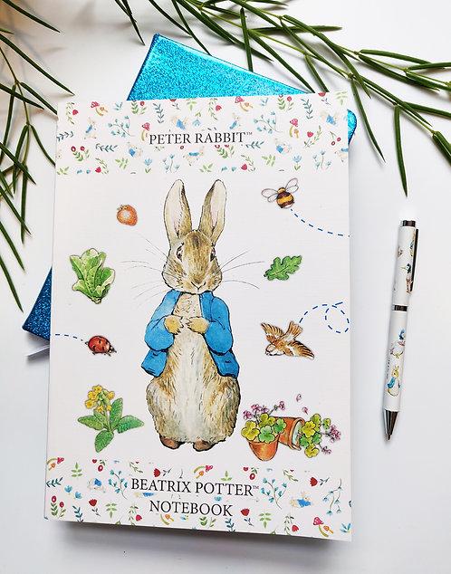 B5 Notebook - Peter Rabbit